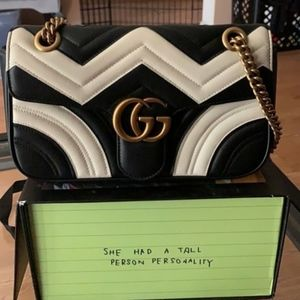 Gucci GG Marmont 2.0 Leather Shoulder Bag